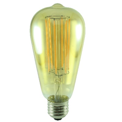 Carbon filament bulb E27 LED