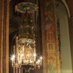 E-Candle in kerk