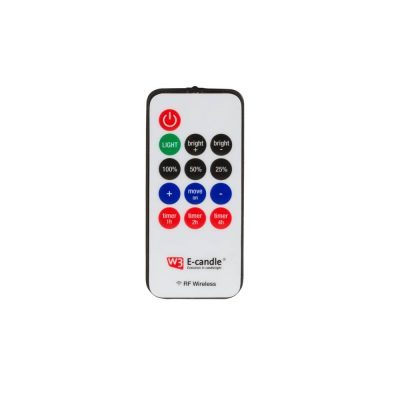 Battery candle remote control